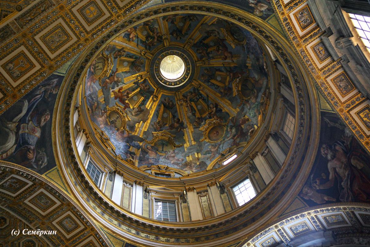 Рим - часть третья - собор Святого Петра